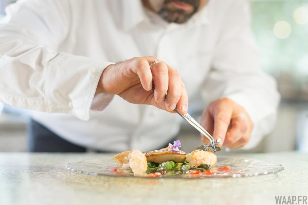 restaurant Le Ricordeau - Détail préparation