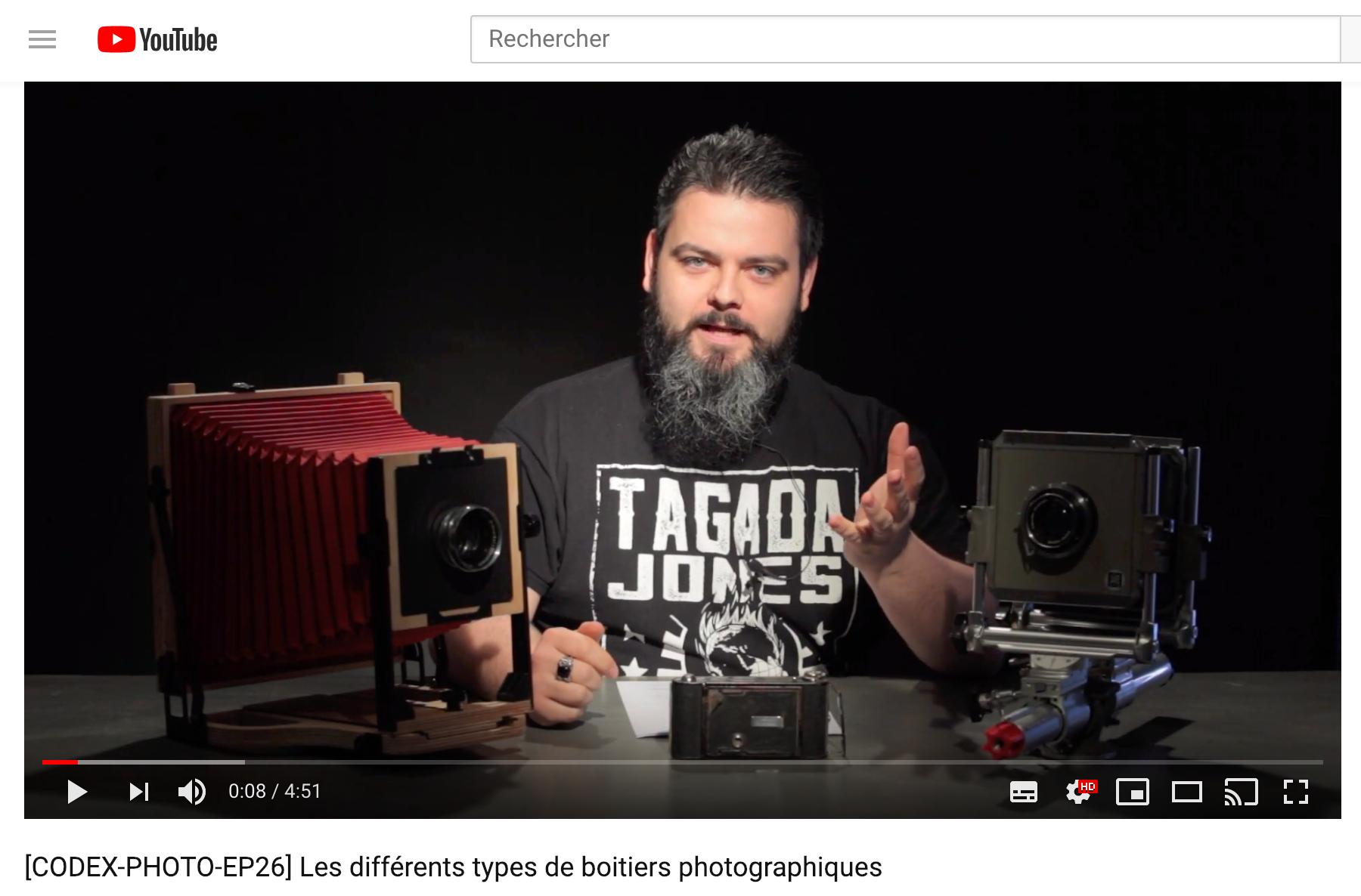Les différents types de boitiers photo