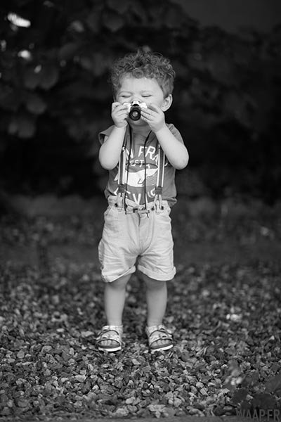 Devenir photographe, un jeu d'enfant !
