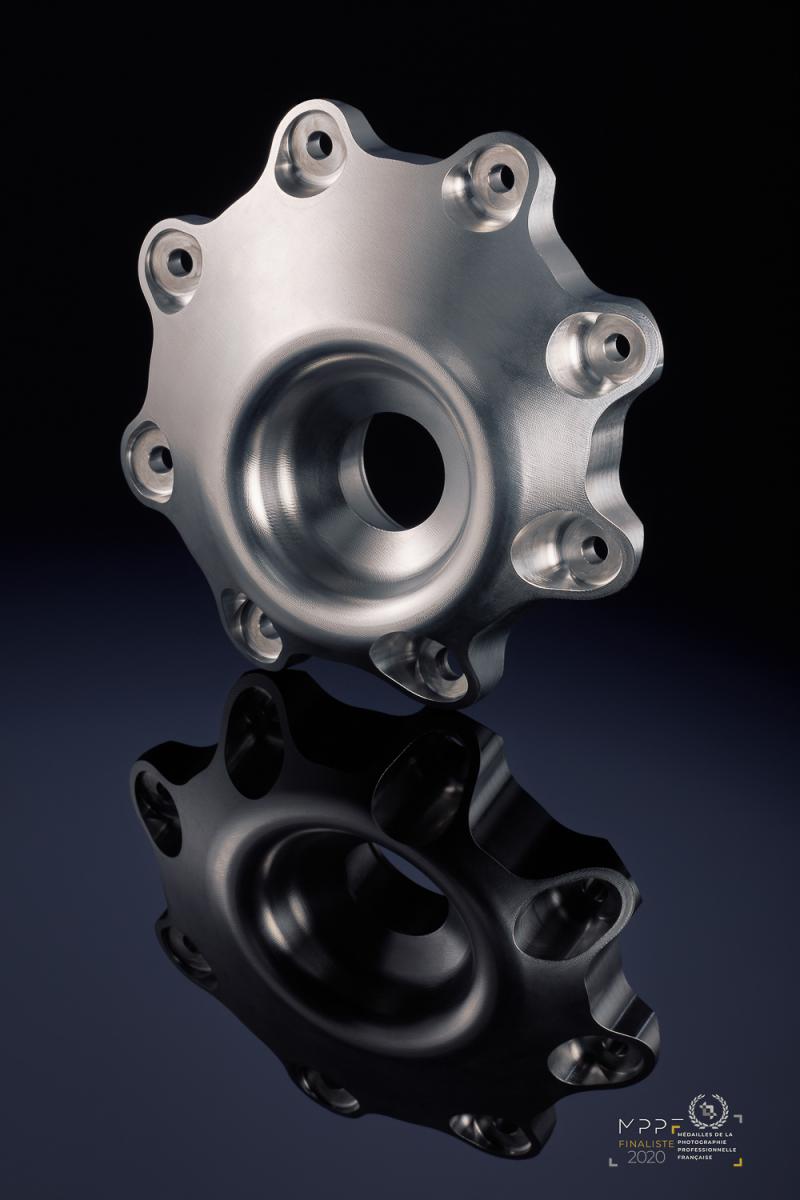 Photographies de produits au Mans : mécanique de précision